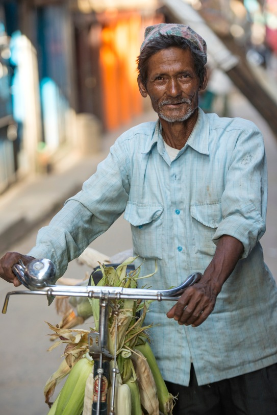 Proud cyclist